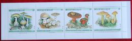 Boekje / Carnet N° 21 B21 1991 Paddenstoelen Mushrooms Pilze Champignons COB 2418-2421 POSTFRIS MNH ** BELGIE BELGIUM - Libretti 1953-....