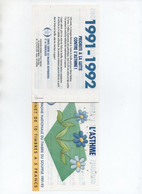Carnet Antituberculeux - Tegen Tuberculose