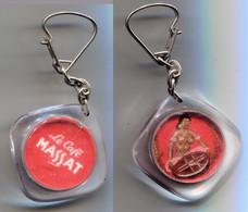 Porte-clefs Café Massat Femme Noire - Key-rings