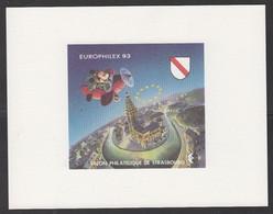 CNEP-1993-N°17b** STRASBOURG-EUROPHILEX-MICKEY.-Epreuve De Luxe - CNEP