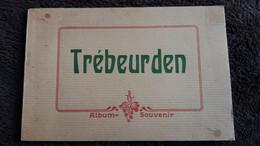 ALBUM SOUVENIR TREBEURDEN ED COMBIER FORMAT 12 PAR 18 CM  12 VUES DONT PLAGE ROCHER TE ROOM CASTEL - Unclassified