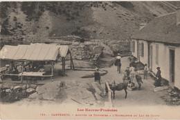 Hautes Pyrénées : Cauterets : Arrivée Des Touristes Au Lac De Gaube - Cauterets