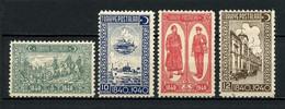 TURQUIE 1940 N° 947/950 * Neufs MH  Trace Charnière TTB C 4.50 € Réorganisation Postale Bateaux Poste Chevaux Facteurs - Ungebraucht