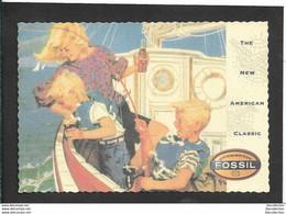 Fossil - Non Viaggiata - Publicité