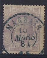 Nr. 36 Met MOOIE DC Afstempeling MARBAIS Dd. 15/3/1881 , Staat Zie Scan ! Inzet 15 € ! - 1869-1883 Leopold II.