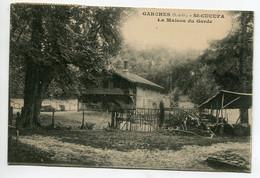 92 GARCHES ST CUCUFA La Maison Du Garde 1920 Timb   D04 2021 - Garches