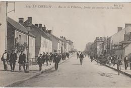 Saône Et Loire : Le Creusot : Sortie Des Ouvriers De L'Artillerie - Le Creusot