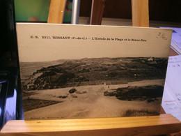 WISSANT  E.S.  2211  L'entrée De La Plage Et Le Blanc-Nez - Wissant