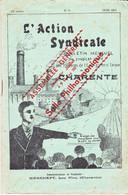 L'Action Syndicale De La Charente 15ème Année N°9 Juin 1937 - 1900 - 1949