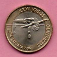 1998 Portugal 200 Escudos 1996 XXVI Jogos Olimpicos Atlanta 1996 - Portugal
