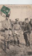 Militaire : Grandes Manoeuvres Du Centre : Officiers Chinois - Oorlog 1914-18