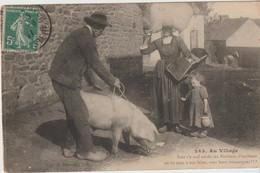 Folklore Breton : Cocho Au Village - Other