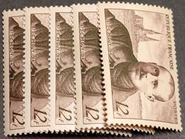 N° 865 X5  Neuf ** Gomme D'Origine  TTB - Unused Stamps