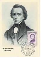 CM FRANCE  1956   CHOPIN - 1950-59