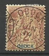 OBOCK N° 33 OBL - Used Stamps