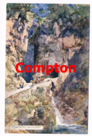 673 E.T.Compton Eggental-Schlucht Bozen Dolomiten Künstlerkarte - Ohne Zuordnung