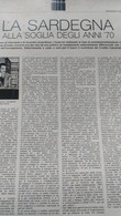 EPOCA 1969 SARDEGNA VILLACIDRO SARROCH ARBATAX PORTO TORRES - Otros