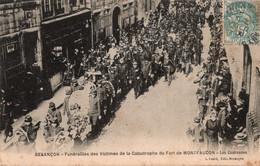 Besançon  Funérailles Des Victimes Du Fort De Montfaucon  Les Couronnes - Besancon