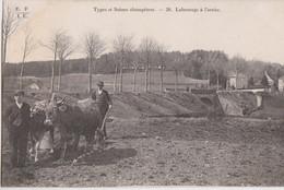 """CPA - 19 - LABOURTAGE à L'ARAIRE """"Types Et Scènes Champêtres"""" - Edit E.F.I.U Eyboulet Frères à USSEL (CORREZE) N° 28 - Cultivation"""