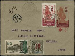 Lettre Entier Du 80, N°52 - 74 - 79  Devant De Lettre Recommandé De Mayumba Du 23/07/16 - TB - Non Classés
