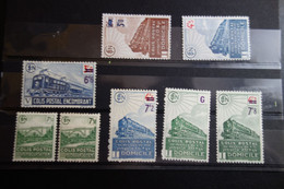 Lot De 1942/43  C.50e MH* - Neufs