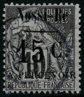 Oblit. N°13 15c Sur 10c Noir S/lilas IV - TB - Non Classés