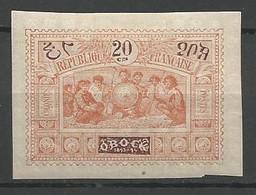 OBOCK N° 53 NEUF* CHARNIERE  / MH - Unused Stamps