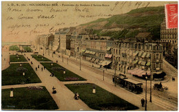 62 BOULOGNE-sur-MER - Panorama Du Boulevard Beuve - Boulogne Sur Mer