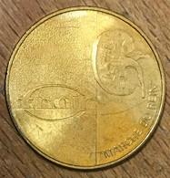 54 VANDOEUVRE LES NANCY MARCHE DU REIN MEDAILLE SOUVENIR MONNAIE DE PARIS 2009 JETON TOURISTIQUE MEDALS COINS TOKENS - 2009