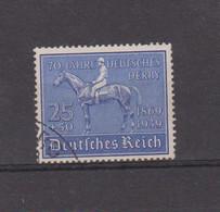 ALLEMAGNE REICH 1939 DERBY DE HAMBOURG YVERT N°637 - Usati
