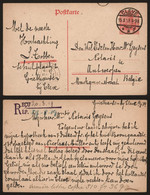 Germany 1919 - Postal Stationery P107 Cleve To Antwerp Belgium - Stamped Stationery