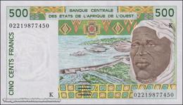 TWN - SENEGAL (W.A.S.) 710Km - 500 Francs 2002 UNC - Senegal