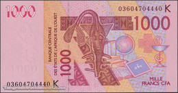 TWN - SENEGAL (W.A.S.) 715Ka - 1000 1.000 Francs 2003 (2003) UNC - Senegal