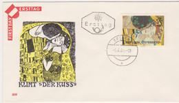 FDC 1964 - Mi Mi 1154 (37) : Wiedereröffnung Der Wiener Secession , ST Bregenz - 1961-70 Cartas