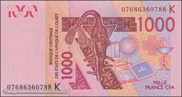 TWN - SENEGAL (W.A.S.) 715Ke - 1000 1.000 Francs 2003 (2007) UNC - Senegal