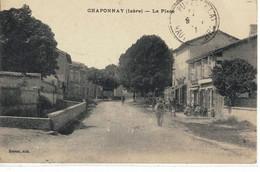 CPA  CRAPONNAY  La ¨Place - Autres Communes