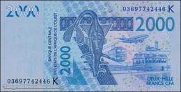 TWN - SENEGAL (W.A.S.) 716Ka - 2000 2.000 Francs 2003 (2003) UNC - Senegal