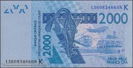 TWN - SENEGAL (W.A.S.) 716Km - 2000 2.000 Francs 2003 (2013) UNC - Senegal