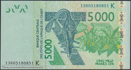 TWN - SENEGAL (W.A.S.) 717Km - 5000 5.000 Francs 2003 (2013) UNC - Senegal