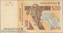 TWN - SENEGAL (W.A.S.) 719Kh - 500 Francs 2012 (2019) UNC - Senegal