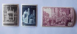 3 Timbres Belgique 876 à 878 Neufs ** - Ungebraucht