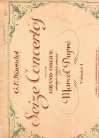 HAENDEL / 16 Concertos Pour Grand Orgue - Volume 1 / - Noten & Partituren