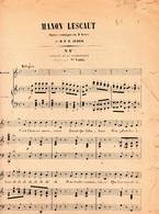 AUBER Daniel / Manon Lescaut - N° 6 Bis Couplet De La Bourbonnaise / - Scores & Partitions