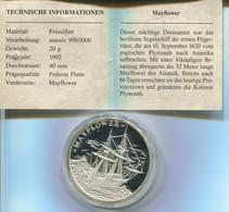 6768) Eroberung Der Weltmeere, Silber PP - Non Classificati