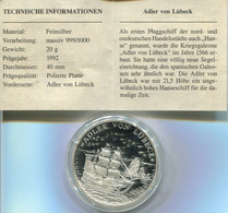 6769) Eroberung Der Weltmeere, Silber PP - Non Classificati
