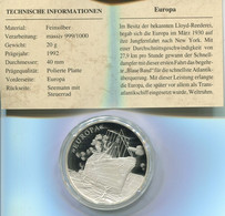 4410) Eroberung Der Weltmeere, Silber PP - Non Classificati