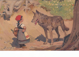 Paul HEY Vintage - Brothers Grimm - Little Red Riding Hood And The Big Bad Wolf - Hey, Paul