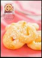 Mk Sweden Maximum Card 2013 MiNr 2943   Cookies. Pretzel-shaped Cookies - Cartes-maximum (CM)
