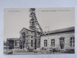 MONTCEAU LES MINES 71 Saone Et Loire PUITS DES ALOUETTES Au Pays Minier Carte Postale Ancienne CPA Postcard Animee - Montceau Les Mines