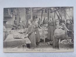 MONTCEAU LES MINES 71 Saone Et Loire LES TRIEUSES Au Pays Minier Carte Postale Ancienne CPA Postcard Animee - Montceau Les Mines
